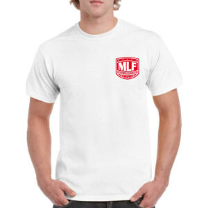 MLF TShirt We Are Bass Fishing Bianco